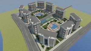01 2 1 300x169 Nye Boligprosjekter Alanya   Nytt nærings  og boligprosjekt