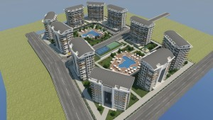 01 2 300x169 Nye Boligprosjekter Alanya   Nytt nærings  og boligprosjekt