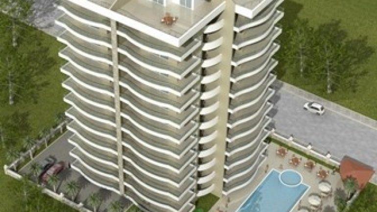 Leilighet i alanya til salgs Havutsikt  duplex penthouse