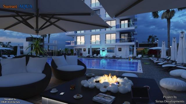 Best00006 luksusleilighet på stranden med 2 soverom,  i Mahmutlar Alanya