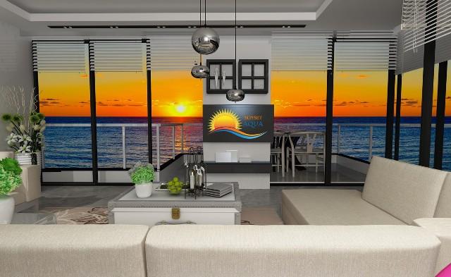 Best00034 luksusleilighet på stranden med 2 soverom,  i Mahmutlar Alanya