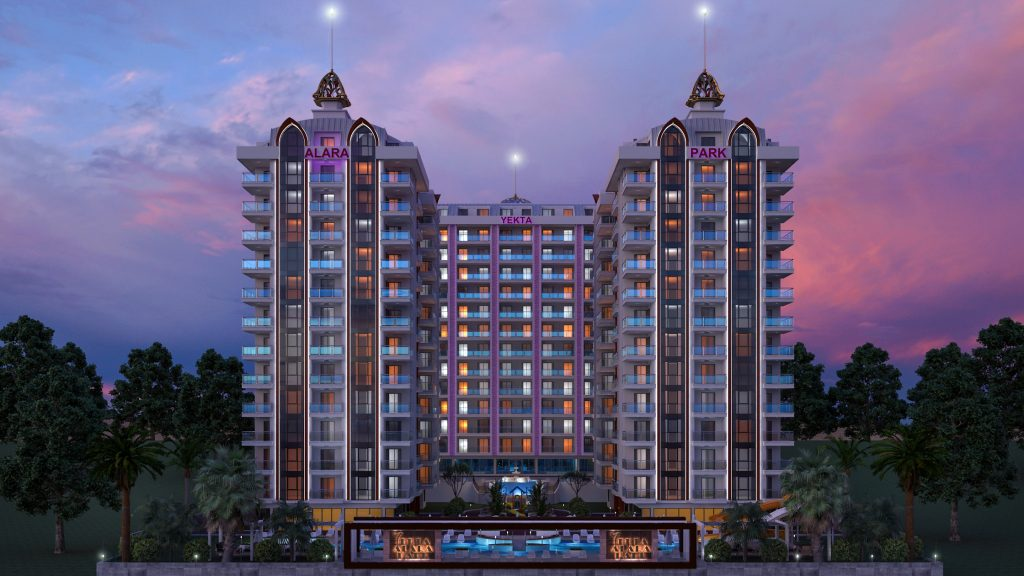 11 1024x576 Ny leilighet Alanya | Nytt Boligprosjekt Mahmutlar Alanya