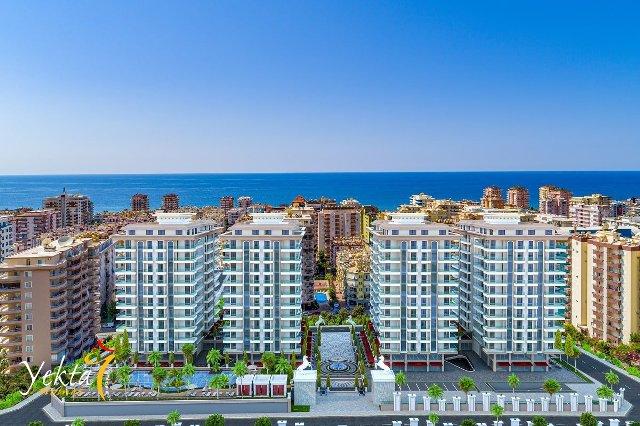 Kjøpe Leilighet og Hus i Tyrkia Ny leilighet på Mahmutlar / Alanya