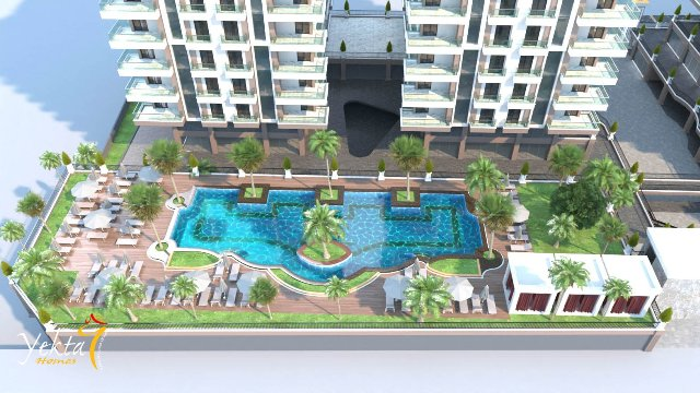 Leiligheter i Alanya Ny leilighet på Mahmutlar / Alanya