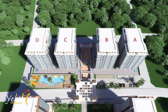 Leiligheter og villaer till salgs i Alanya Ny leilighet på Mahmutlar / Alanya