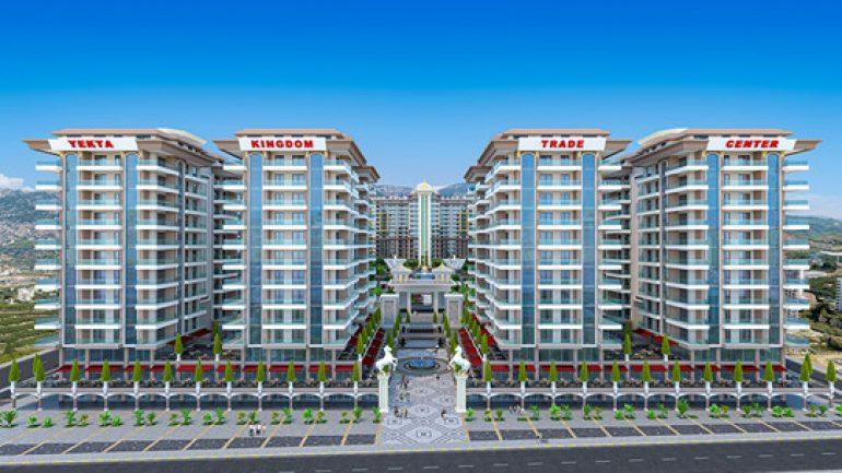 Ny leilighet på Mahmutlar / Alanya